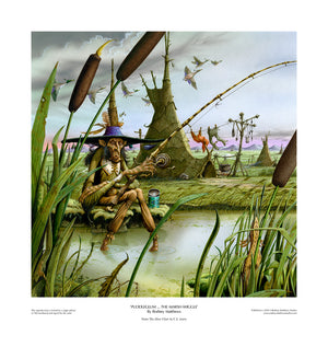 Puddleglum ... the Marsh-wiggle limited edition giclèe art print