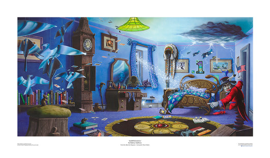 Sleepwalking (Magnum) open edition print by Rodney Matthews