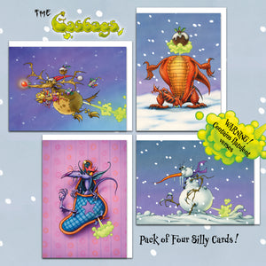 The Gasbags Christmas Cards Collection Two