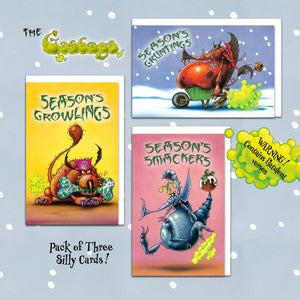 The Gasbags Christmas Cards Collection One