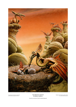 The Dragon Colony limited edition giclèe art print