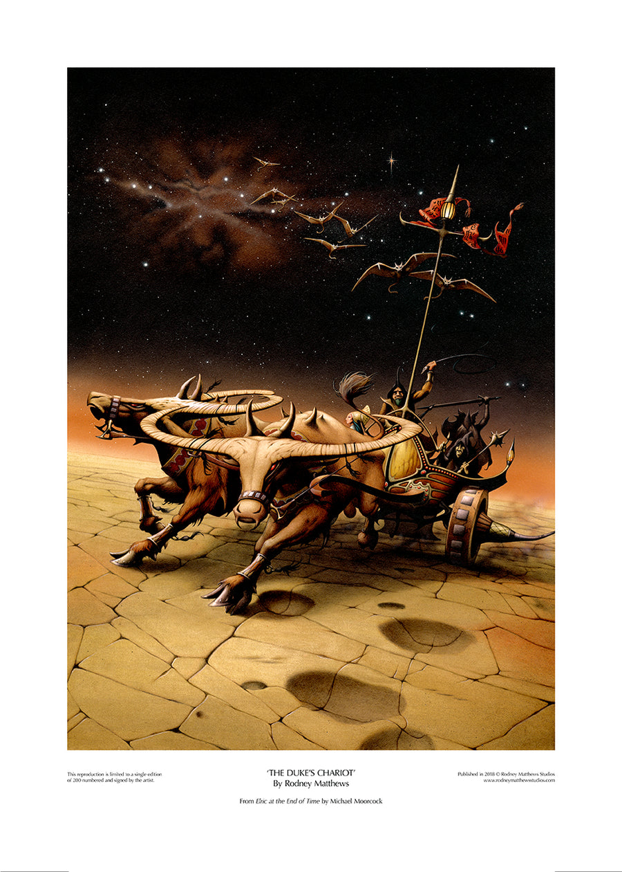 The Duke's Chariot (Elric at the End of Time)