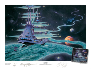 The Ether Stream (Rick Wakeman) by Rodney Matthews
