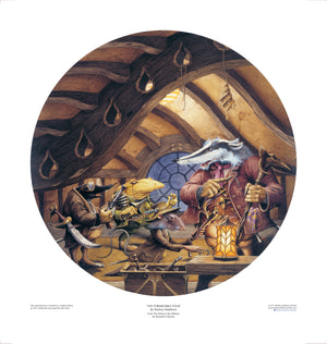 The Formidable Four (The Wind in the Willows) limited edition print, hand-signed and numbered by Rodney Matthews