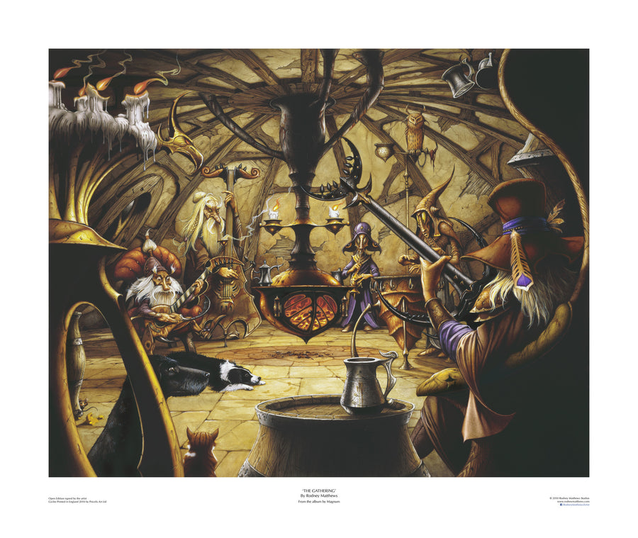 The Gathering open edition giclèe art print