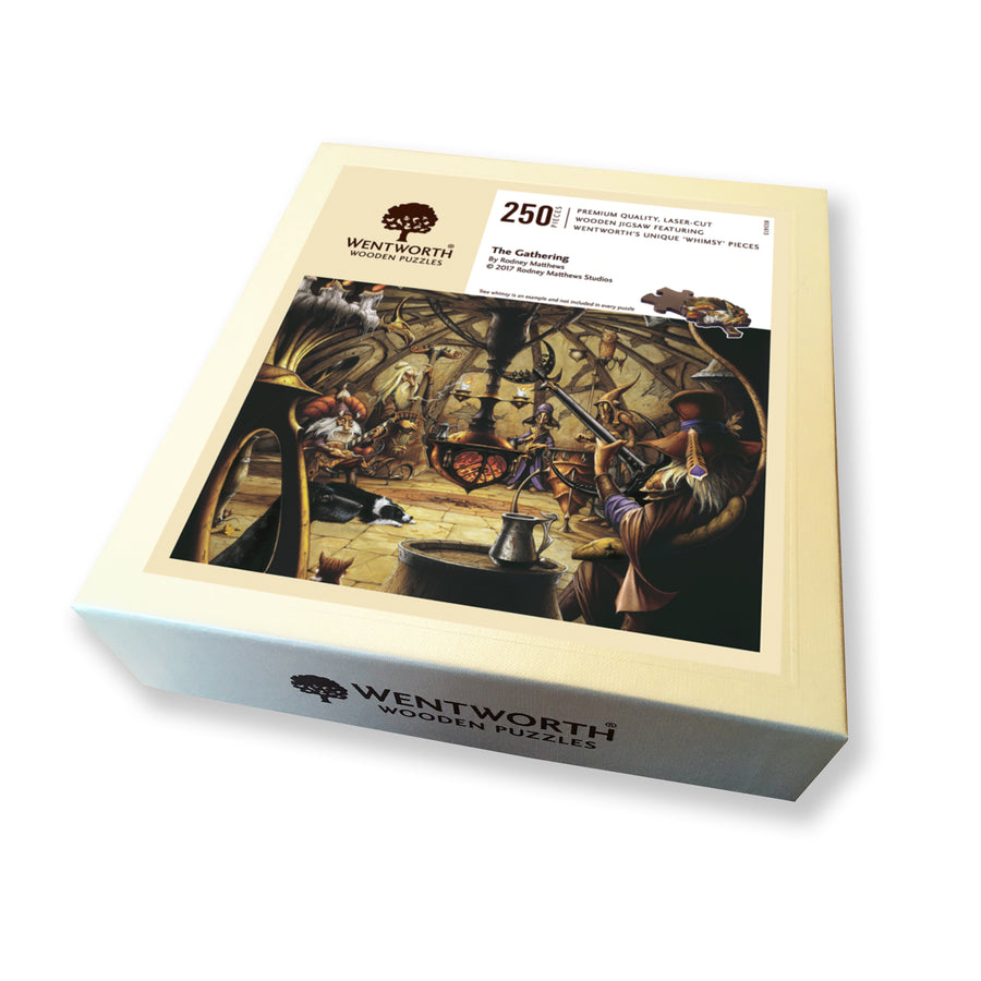 The Gathering (Magnum) 250 piece Wentworth Wooden Puzzle