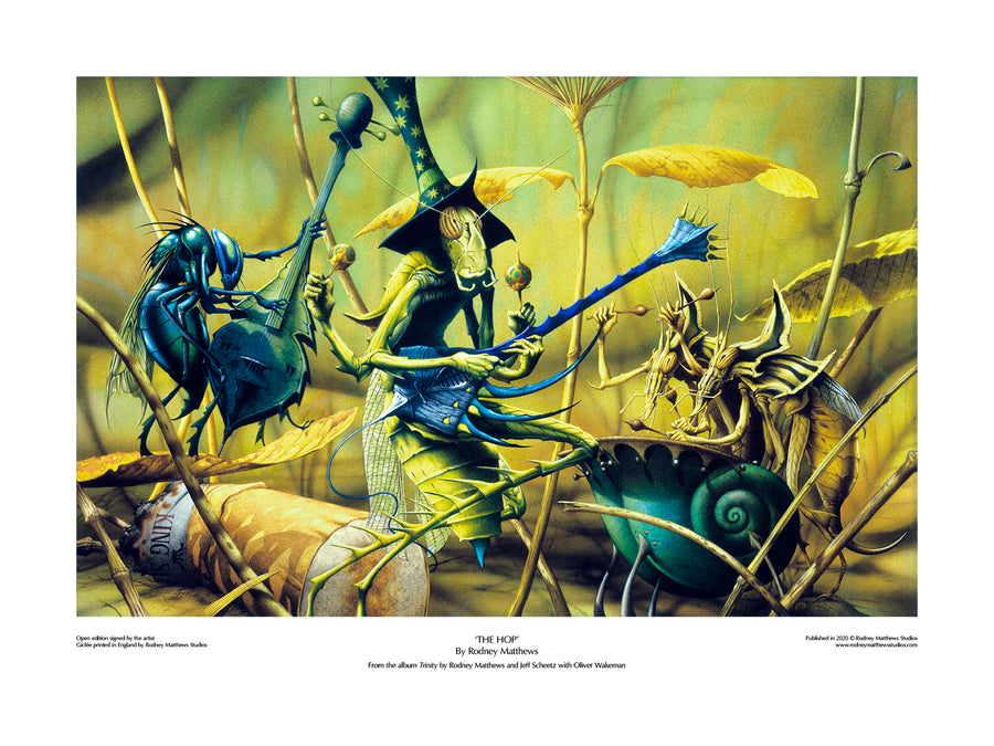 The Hop open edition giclèe art print