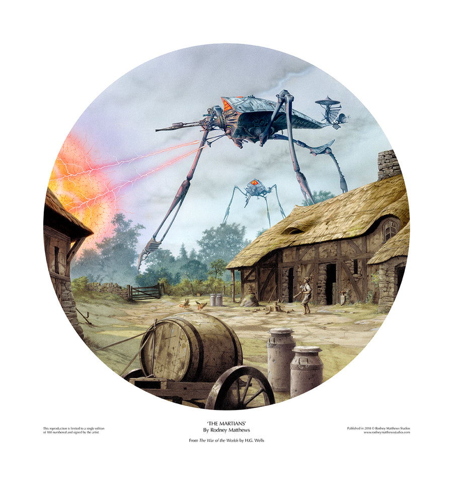 The Martians limited edition giclèe art print