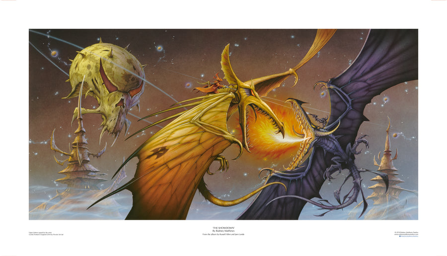 The Showdown (Russell Allen and Jørn Lande) | Rodney Matthews Studios