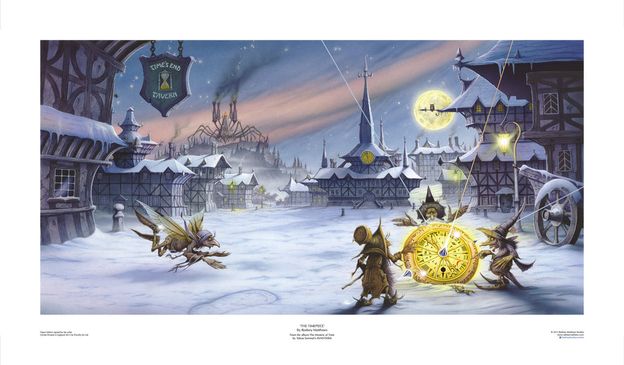 The Timepiece open edition giclèe art print