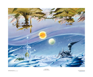 Time Winds open edition print, hand-signed by Rodney Matthews
