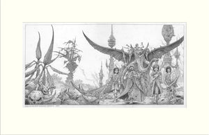 Time on Our Side (The Rolling Stones) by Rodney Matthews