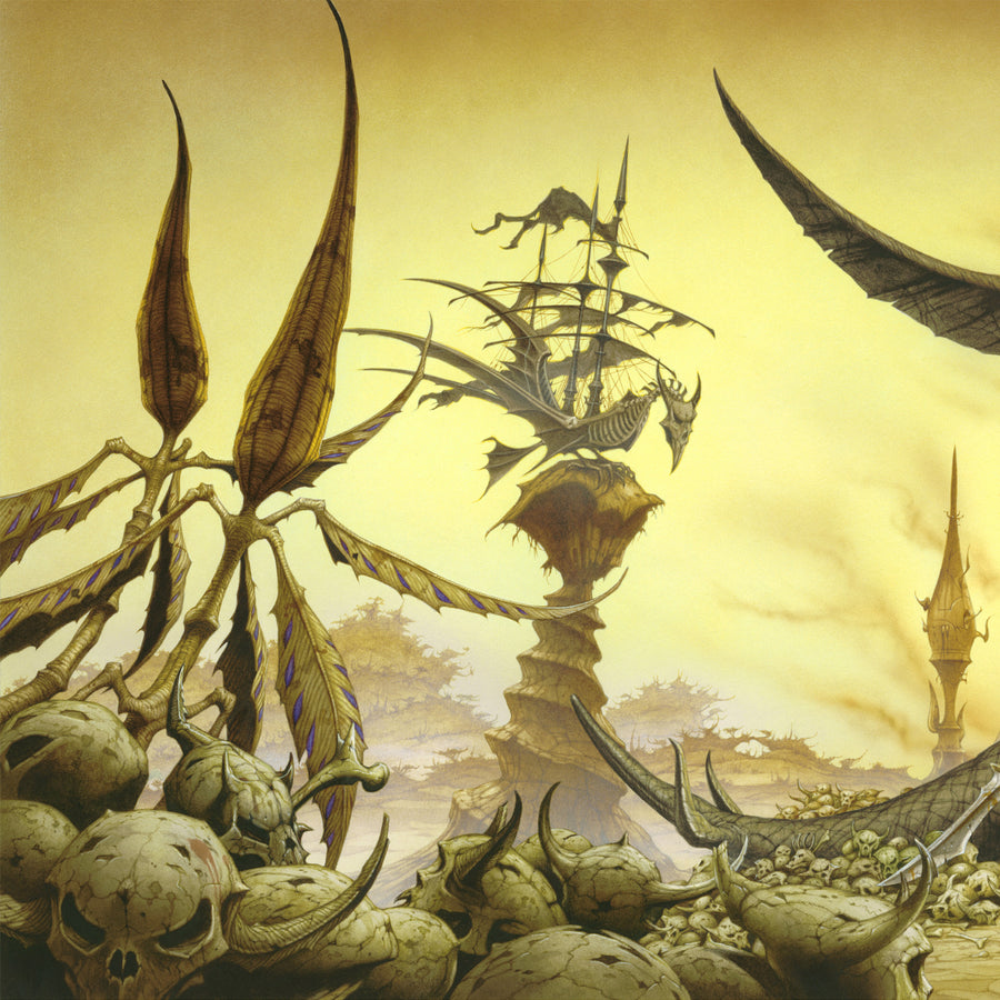 Time on our Side Limited edition print by Rodney Matthews featuring The Rolling Stones | Rodney Matthews Studios