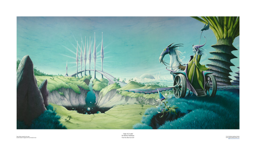 Time to Turn (Eloy) open edition print by Rodney Matthews
