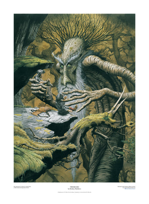 Treebeard limited edition giclèe art print