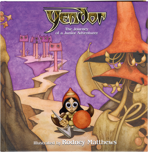 Yendor - The Journey of a Junior Adventurer (Hardcover Book)