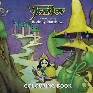 Yendor - Colouring Book