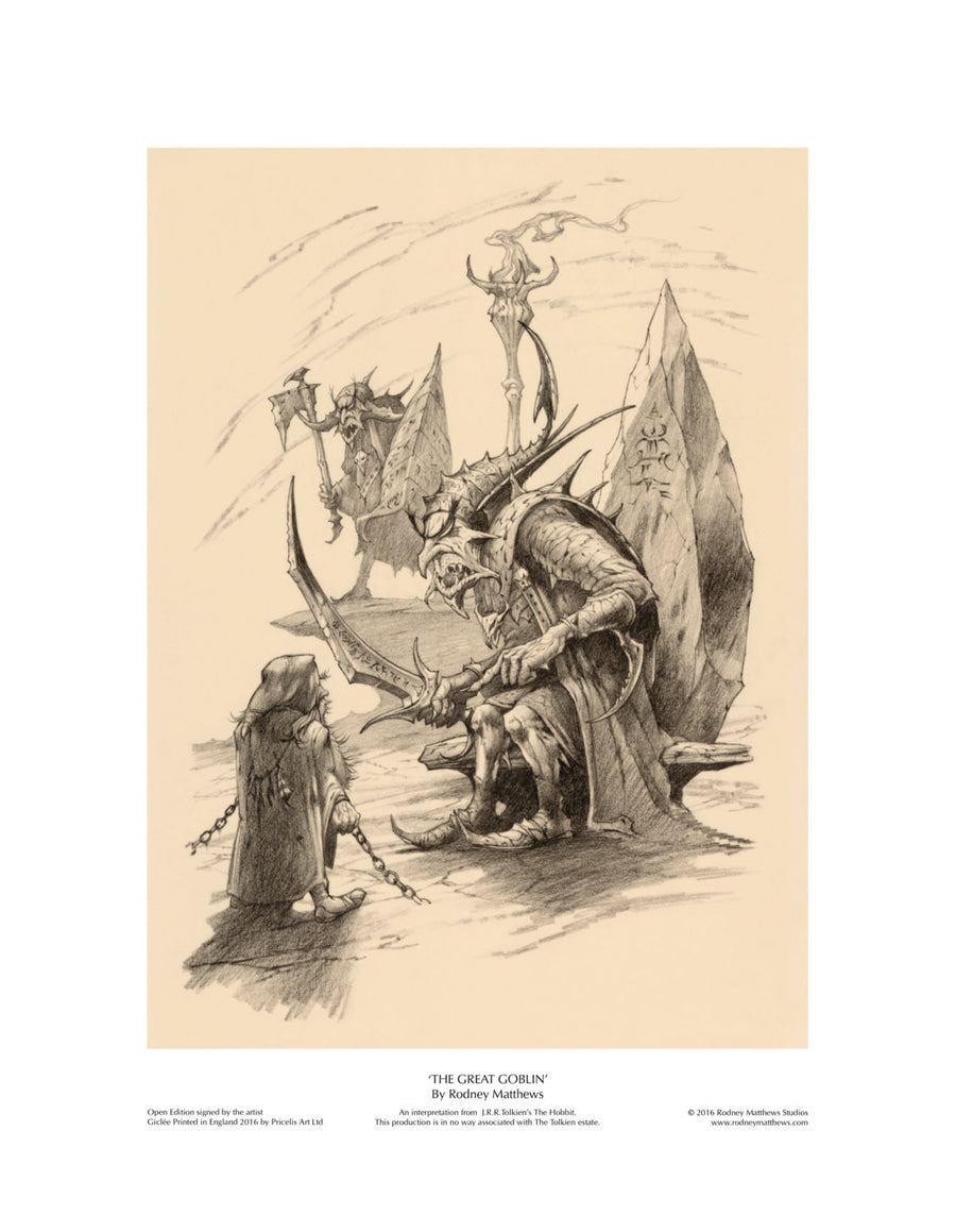 The Great Goblin open edition giclèe art print