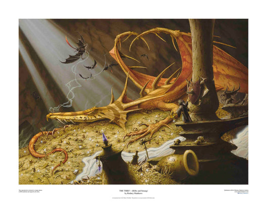 The Thief ~ (Bilbo and Smaug) (The Hobbit)