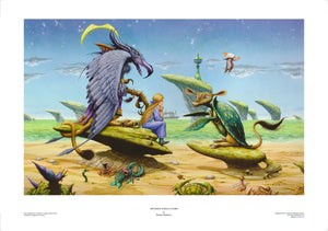 The Mock Turtle's Story limited edition giclèe art print