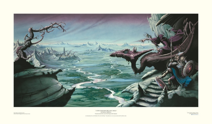 A View Over Isengard album cover for Bo Hansson's The Lord of the Rings by Rodney Matthews | Rodney Matthews Studios