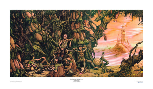 Another Time, Another Place (The Rolling Stones) open edition print, hand-signed by Rodney Matthews