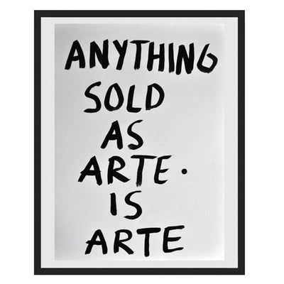 Pintura Juan Uribe - Anything sold as Arte is Arte