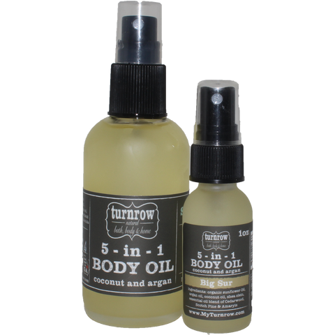 Wholesale BIG SUR 5-in-1 Coconut & Argan Body Oil