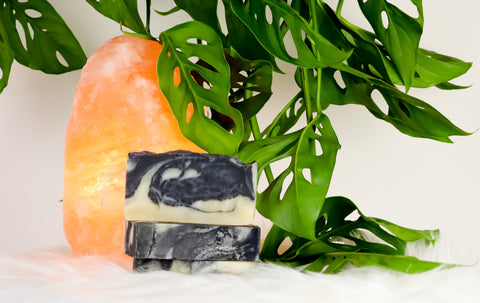 DETOX - Tea Tree & Peppermint Charcoal Bar