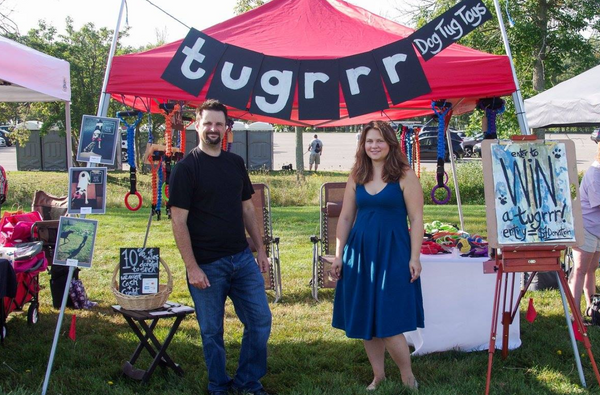 tugrrr tent paws in the park 2017
