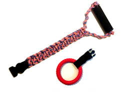 Tugrrr Best Dog Toy Red White and Blue Ring Combo