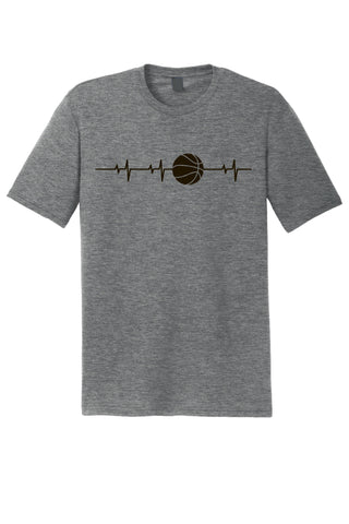 Basketball Pulse Tri-Blend Tee