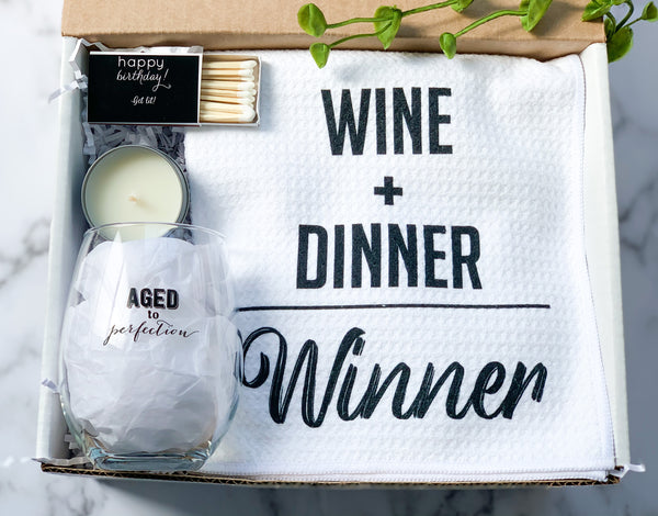 Birthday Gift Box For Wine Lover
