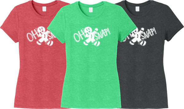 Christmas Shirts CLEARANCE SALE - Oh Snap T-shirt