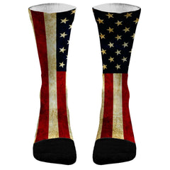 American Flag Socks Custom 4th of July Socks American Pride Flag Socks USA Socks