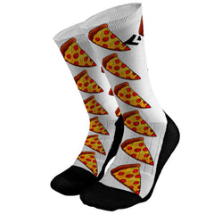 Pizza Custom Compression Dri-Fit Socks