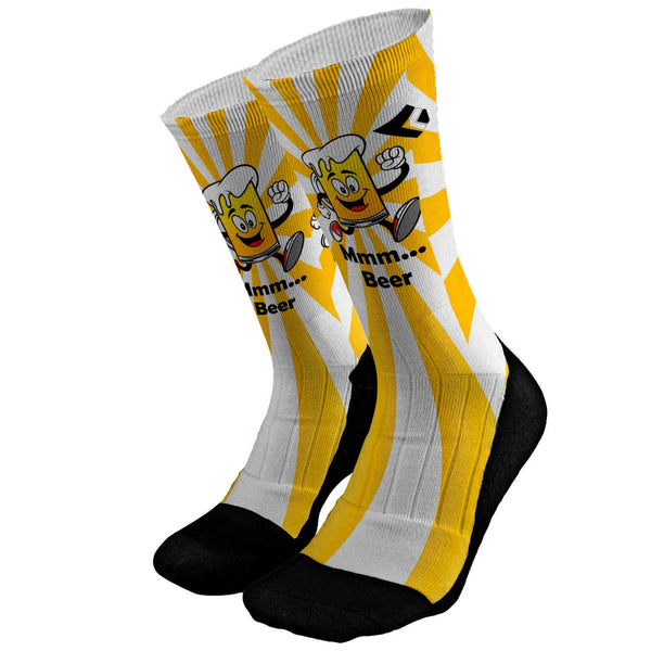 Beer Run Custom Socks
