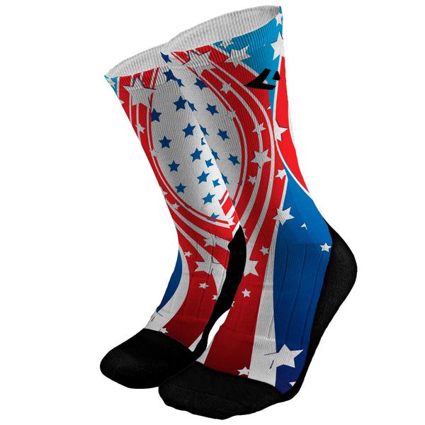 Stars and Stripes Custom Socks
