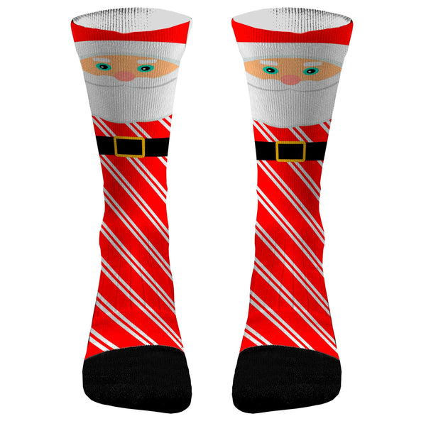 Santa Claus Custom Dri-Fit Athletic Compression Socks