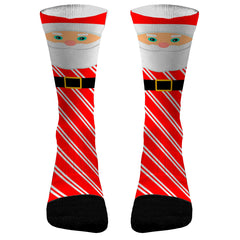 Christmas Socks Santa Claus Custom Dri-Fit Athletic Compression Socks Christmas Gifts