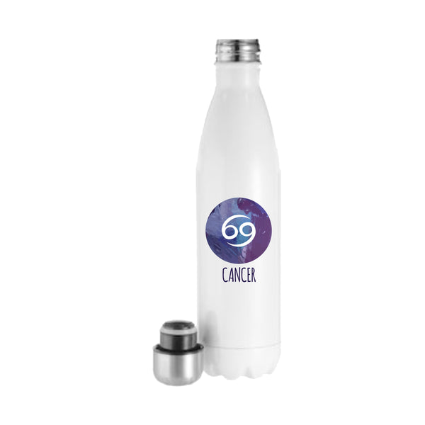 Cancer Zodiac Water Bottle Celestial Water Bottle Zodiac Sign Swell Water Bottle Horoscope