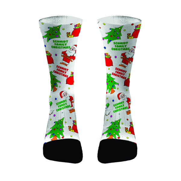 Personalized Christmas Matching Family Socks