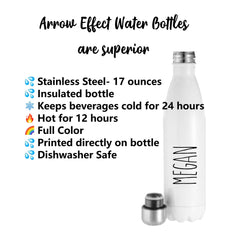 Positive Mindset Water Bottle Personalized Water Bottle You Decide Water Bottle Motivational Water Bottle Encouraging Water Bottle Gift