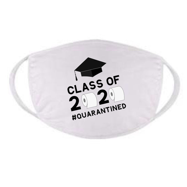 Class of 2020 Face Mask Class of 2020 Quarantine Face Mask Quarantine Graduation Face Mask Class of 2020 Gifts