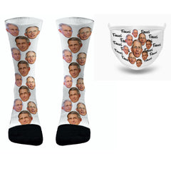 Dr Fauci Gift Pack Fauci Socks and Fauci Face Mask Funny Fauci Socks Dr. Fauci Socks Fauci Mask