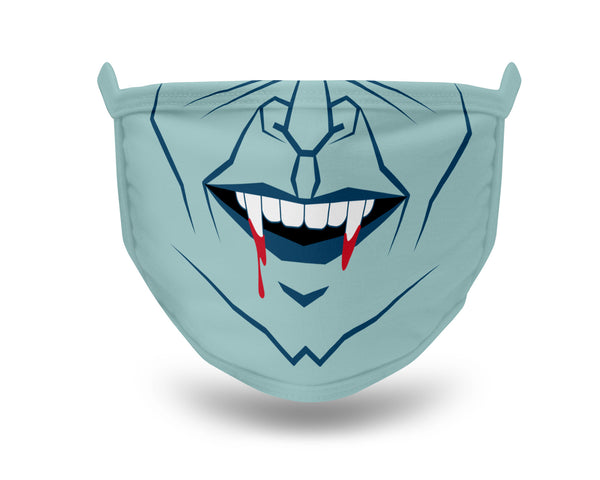 Halloween Face Mask Halloween Vampire Face Mask Vampire Halloween Face Mask Washable Mask Halloween Mask