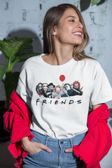 Halloween T-Shirt Funny Friends Halloween Shirt For Women Friends TV Show Halloween T-Shirt Halloween Shirts