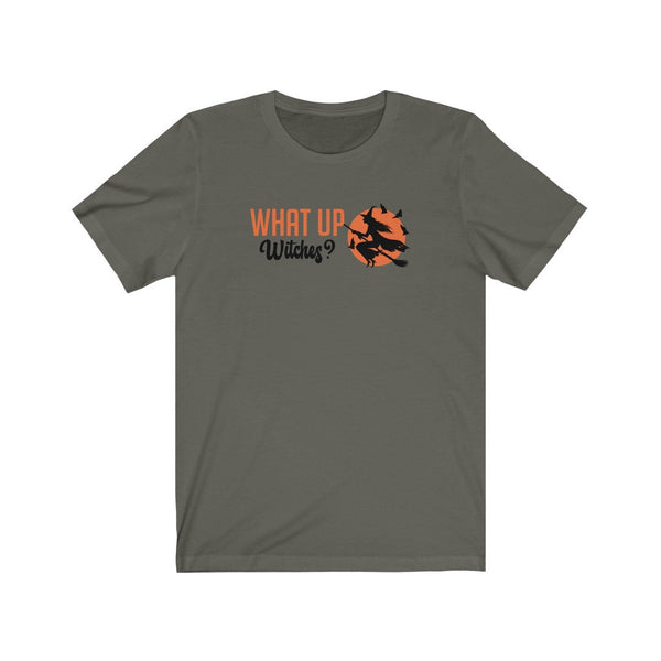Halloween Shirt What Up Witches Funny Halloween T-Shirt For Women