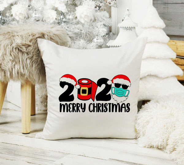 2020 Christmas Pillow Merry Christmas Pillow Cover 16