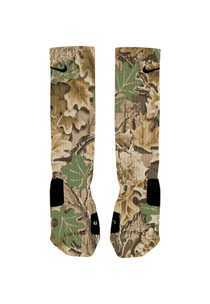 Camouflage Custom Nike Elite Socks